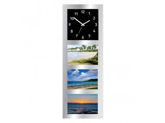הדפסת 3 תמונות על שעון קיר