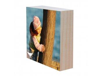 בלוק עץ עם הדפס אישי