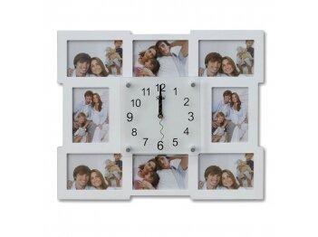 הדפסה על שעון עם 8 תמונות
