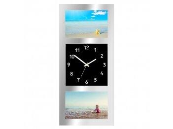 הדפסת 2 תמונות על שעון קיר